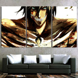 Attack On Titan Eren Horrifying Titan Form 3pcs Canvas Print