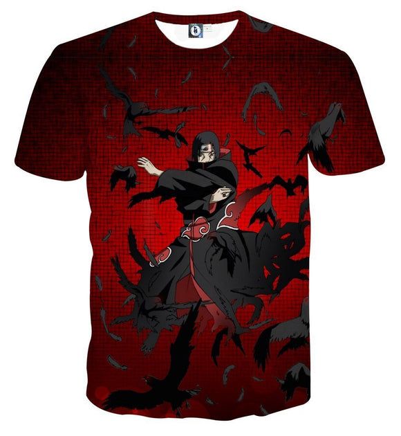 Naruto Japanese Anime Itachi Uchiha Fierce Fabulous T-Shirt