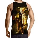 Naruto Six Paths Sage Mode Japanese Anime Brilliant Tank Top