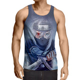 Kakashi Young Ninja Sharingan Fan Art Design Cool Tank Top