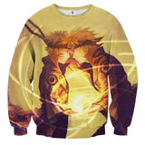 Naruto Boruto Father Son Rasengan Fan Art Cool Sweatshirt