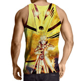 Naruto Sith Path Sage Mode Kurama Fox Awesome Tank Top
