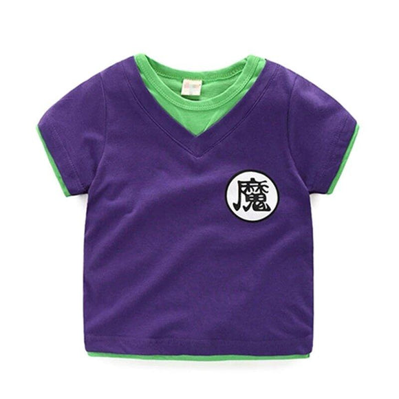 Dragon Ball Z King Piccolo's Kanji Cosplay Kids T-Shirt
