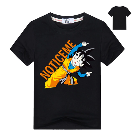 Dragon Ball Z Notice Me Gohan Fusion Position Kids T-Shirt