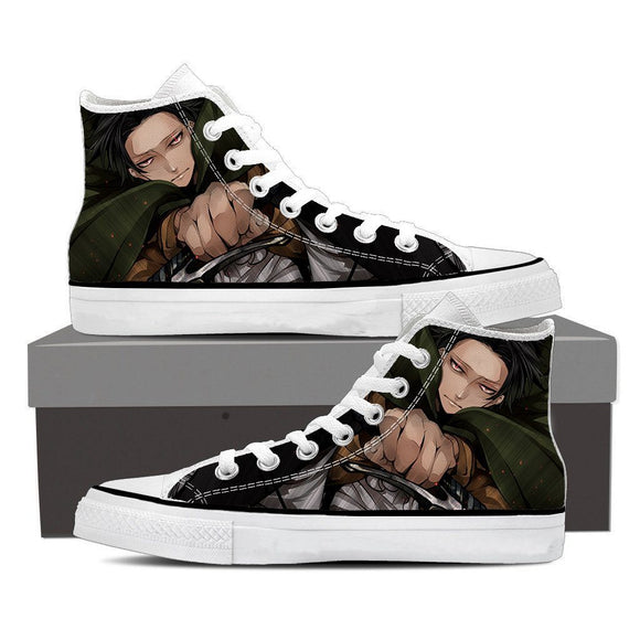 Attack On Titan Deadly Levi Ackerman Killing Swag Shoes