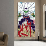 DBZ Anime Piccolo King Angry Full Print 3Pc Canvas Print