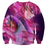 DBZ Goku Black Super Saiyan God Unique Style Fan Art Sweatshirt