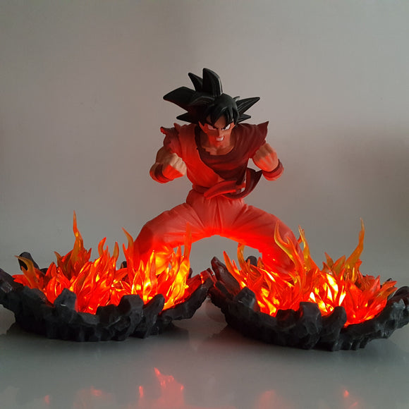 Son Goku Kaioken Ultra Instinct Orange Aura DIY 3D Light Lamp
