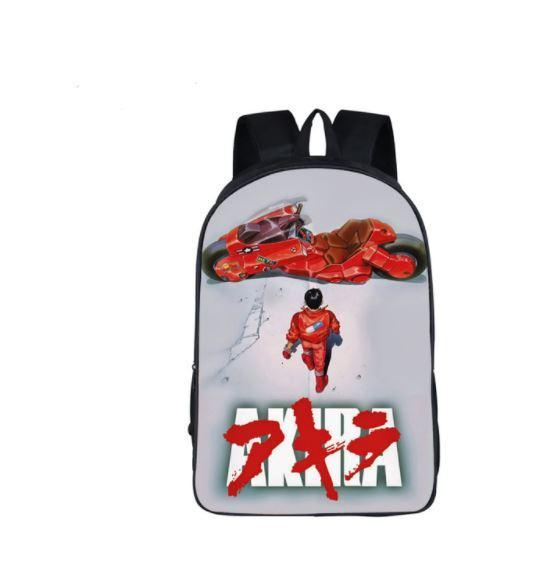 Akira 1988 Anime Poster Retro Style School Bag Backpack - Konoha Stuff