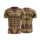 Attack On Titan Reiner Armored Titan Form Cosplay 3D T-Shirt