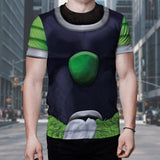 Dragon Ball Z Unbreakable Broly Armor Suit Cosplay T-Shirt