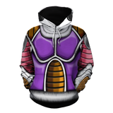 Dragon Ball Z Frieza Classical Body Armor Pullover Hoodie