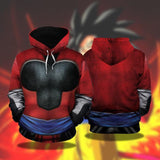 Dragon Ball Z Gohan Inspired Hoodie Suit In Super Saiyan 4