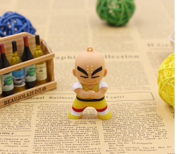 Dragon Ball Krillin Yellow Cute USB Flash Drive 4GB 8GB 16GB 32GB 64GB - Saiyan Stuff