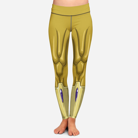 Dragon Ball Z Golden Frieza Women Cosplay Leggings Yoga Pants