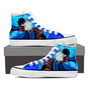 Fairy Tail Anime Gray Breathtaking Ice Make Spell Blue Shoes
