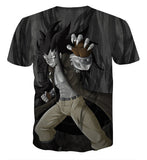 Fairy Tail Bad Gajeel Redfox Iron Dragon Slayer Black T-Shirt