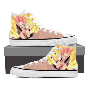 Fairy Tail Natsu Dragneel Fire Attack Stunning Sneakers Shoes