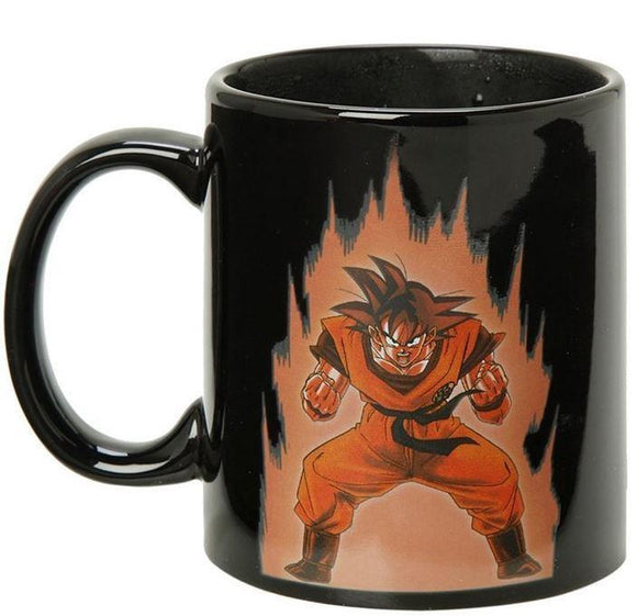 Heat Reactive Color Changing Goku Kaio-Ken Dragon Ball Mug - Saiyan Stuff