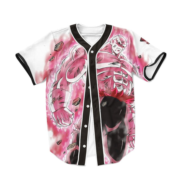 Dragon Ball Super Dope Jiren Full Power Pink Baseball Jersey