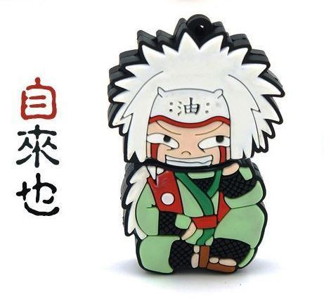 Jiraya Cute USB 2.0 Flash Drive 4GB 8GB 16GB 32GB - Konoha Stuff