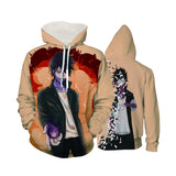 My Hero Academia Dabi Shattering Effect Pastel Color Hoodie