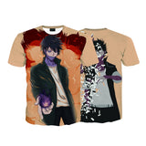 My Hero Academia Dabi Shattering Effect Pastel Color T-Shirt