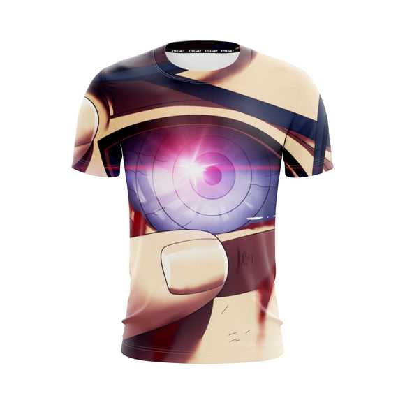 Naruto Anime Uchiha Madara Activating Rinnegan Eye T-Shirt