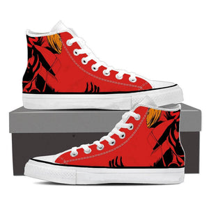Naruto Tough Uchiha Obito Tobi Akatsuki Shinobi Red 3D Shoes