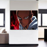 One-Punch Man Serious Saitama Deadly Expression 1pc Canvas