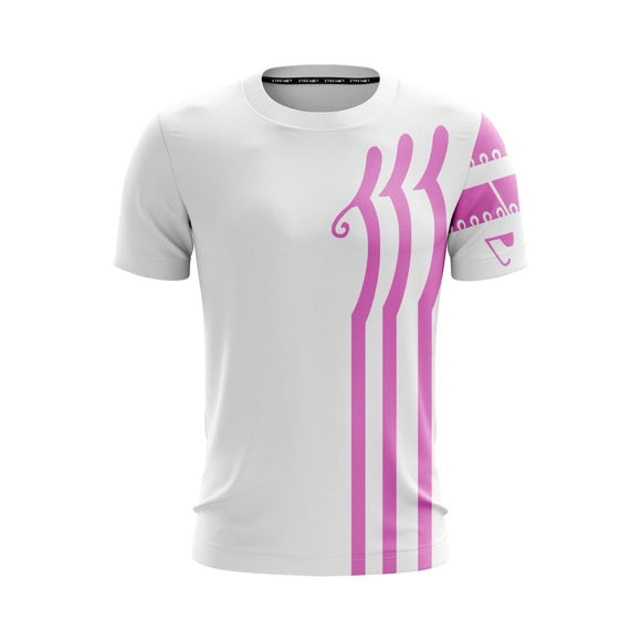 One Piece Charlotte Katakuri Pink Tattoos Nice White T-Shirt