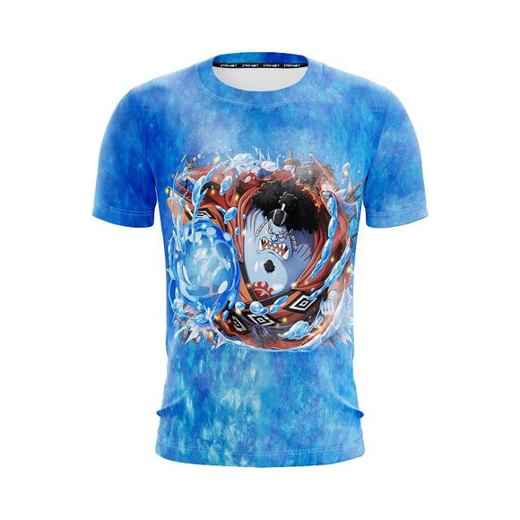 One Piece Jinbe Knight Of The Sea Fishman Karate 3D T-Shirt