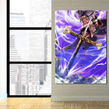 One Piece Shichibukai Dracule Hawk Eyes Mihawk 1pc Wall Art