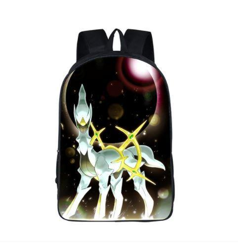 Pokemon Arceus Mythical Creature Majestic School Bag Backpack - Konoha Stuff