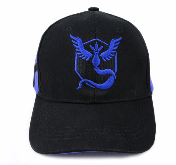 Pokemon GO Team Mystic Embroidery Hip Hop Hat Baseball Cap Snapback - Konoha Stuff - 1