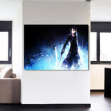 SAO Anime Kirigaya Kazuto Kirito Charming Smile 1pc Wall Art