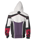 SAO Ordinal Scale Shigemura Yuuna Idol Cosplay Zip Up Hoodie