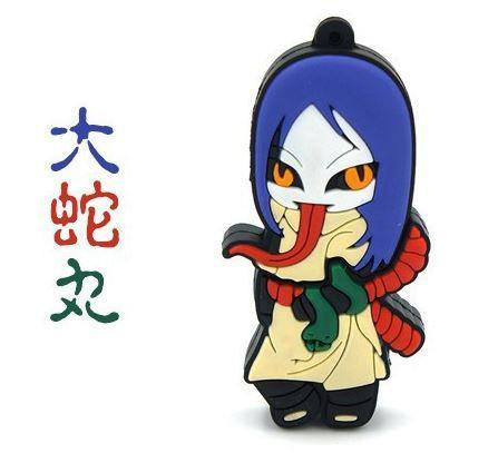 Sannin Orochimaru Cute USB 2.0 Flash Drive 4GB 8GB 16GB 32GB - Konoha Stuff