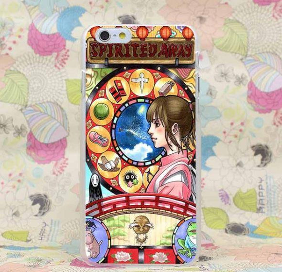 Spirited Away Chihiro Lucky Draw Ghibli Fan Art Style Iphone 4 5 6 7 P Justanimethings