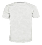 Sword Art Online Kirito Swordsman Combat Pose White T-Shirt
