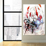 Tokyo Ghoul Arima White Reaper Poker Face Jack 1pc Wall Art