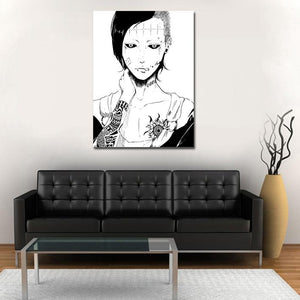 Tokyo Ghoul Uta No Face Awesome White Portrait 1pc Wall Art