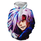 Uchiha Madara Rinnegan Eye Six Paths Sage Mode 3D Hoodie