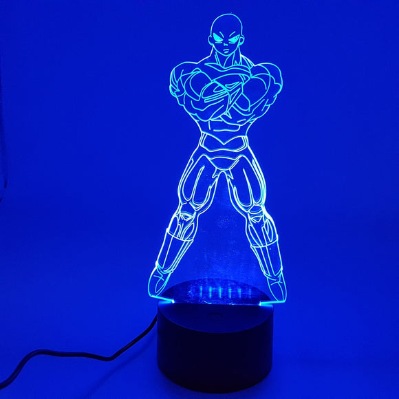 Dragon Ball Super Jiren Color Changing 3D Illusion Acrylic Lamp