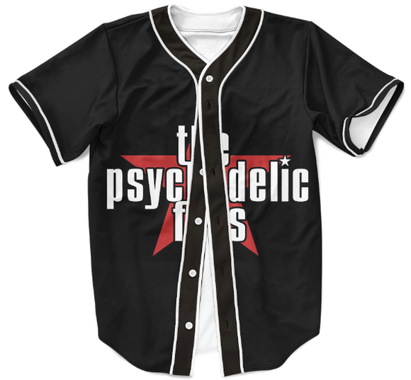 The Psychedelic Furs Talk Talk Talk Black Baseball Jersey