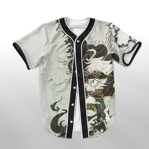 Black Clover 3rd Class Junior Magic Knight Asta Baseball Jersey