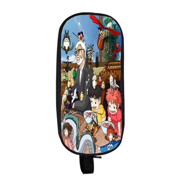Hayao Miyazaki Movie Compilation Cool Fan Art Pencil Case