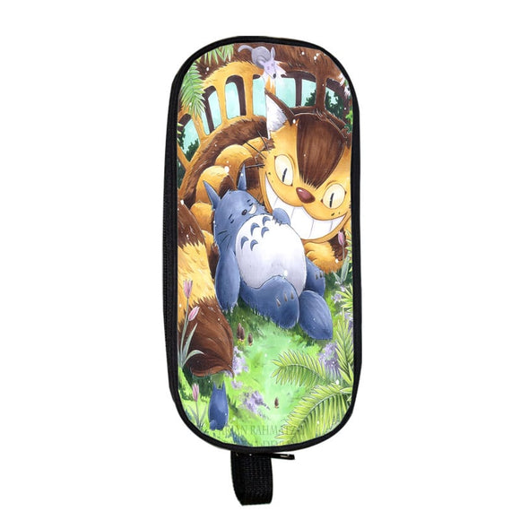 My Neighbor Totoro Sleeping Totoro & Catbus Pencil Case
