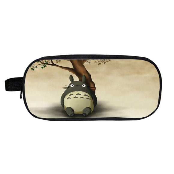 My Neighbor Totoro Big Totoro Resting Beige Pencil Case