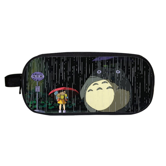 My Neighbor Totoro Mei Satsuki In The Rain Pencil Case